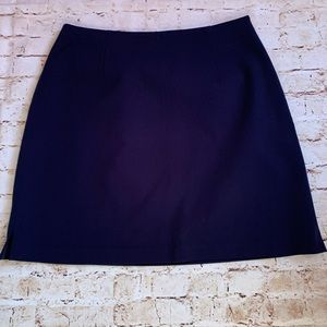 The Limited navy blue skirt